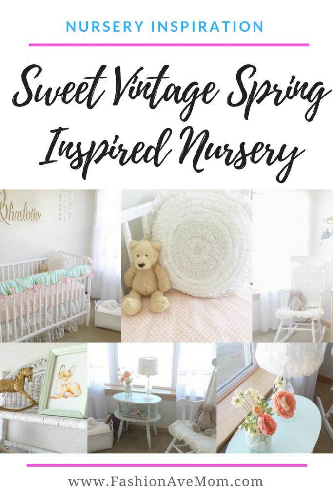 Spring Vintage Baby Girl Nursery