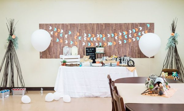 She Created This Beautiful Woodland Theme Baby Shower For A Dear Friend All  While Being Overseas In Japan!