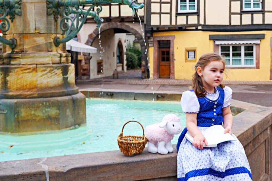 A Tale Of Little Belle In Colmar France