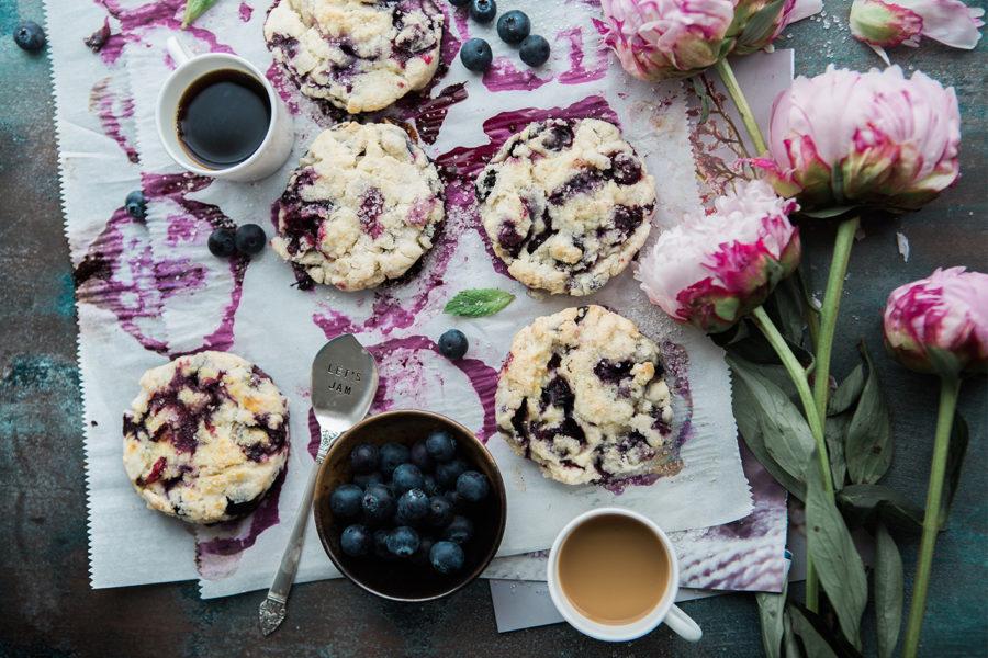 Super Delicious Blueberry Muffin Cookie Recipe