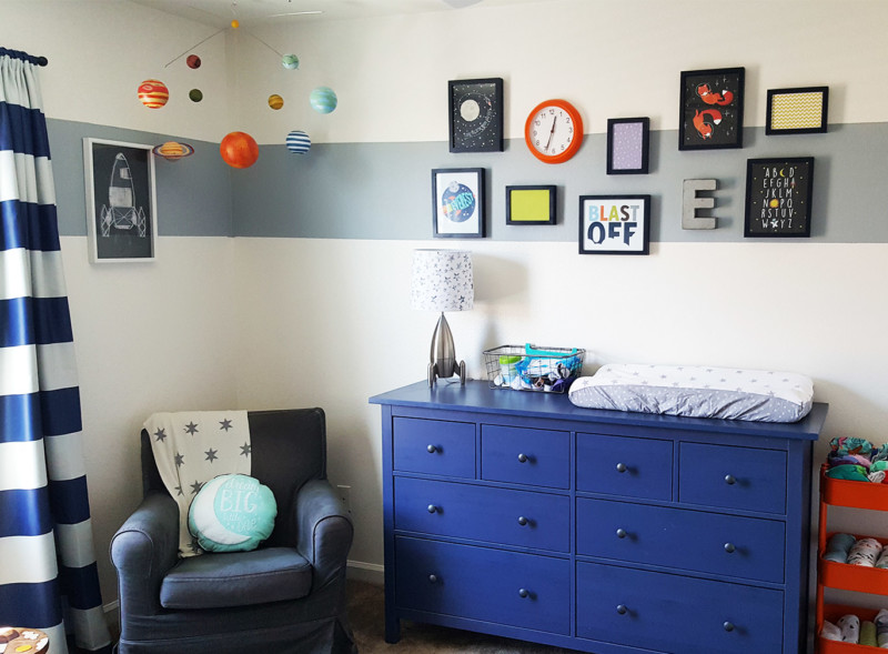 Space Nursery that is Out of this World