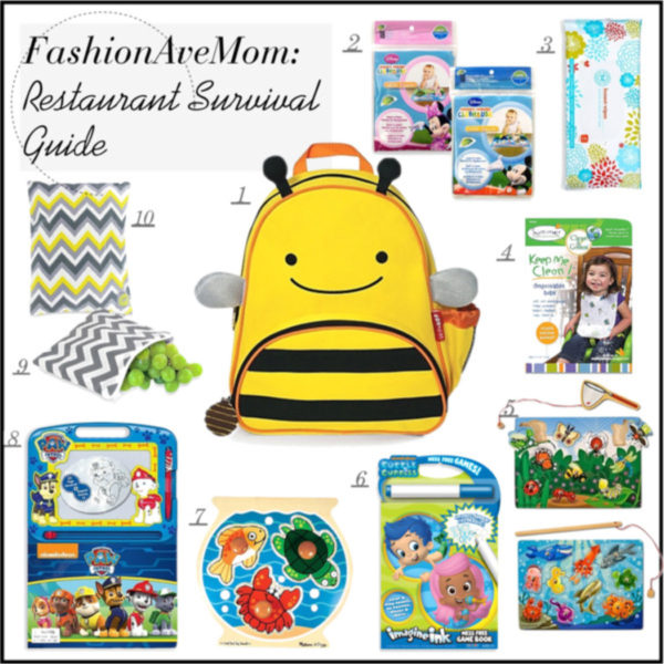 Mommy Rescue Restaurant Survival Guide