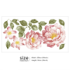 Flower Wall decal Sizing