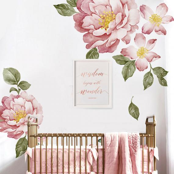 Flower Wall decal bedroom