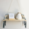 Grey Nordic Wall Shelf