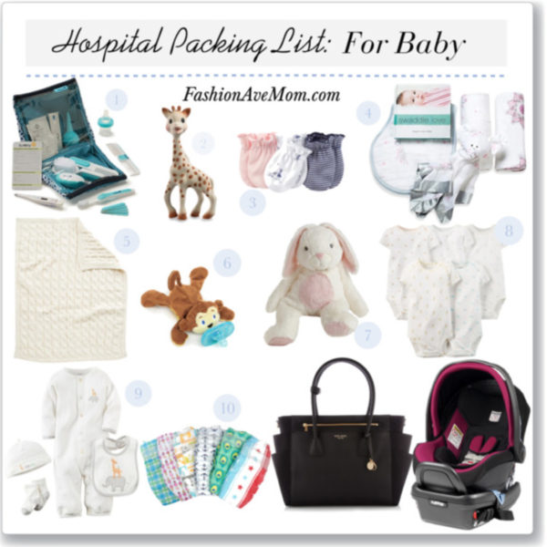 The Hospital Packing Checklist Everything For Baby