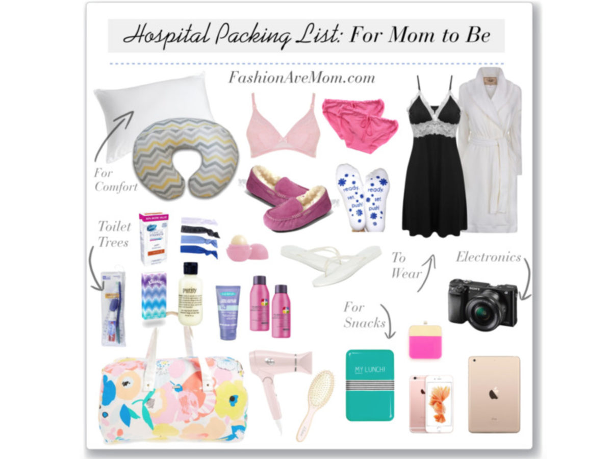The Hospital Packing Checklist for Mom to Be