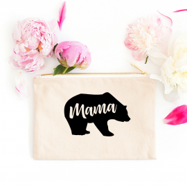 Mama Bear Zip Pouch
