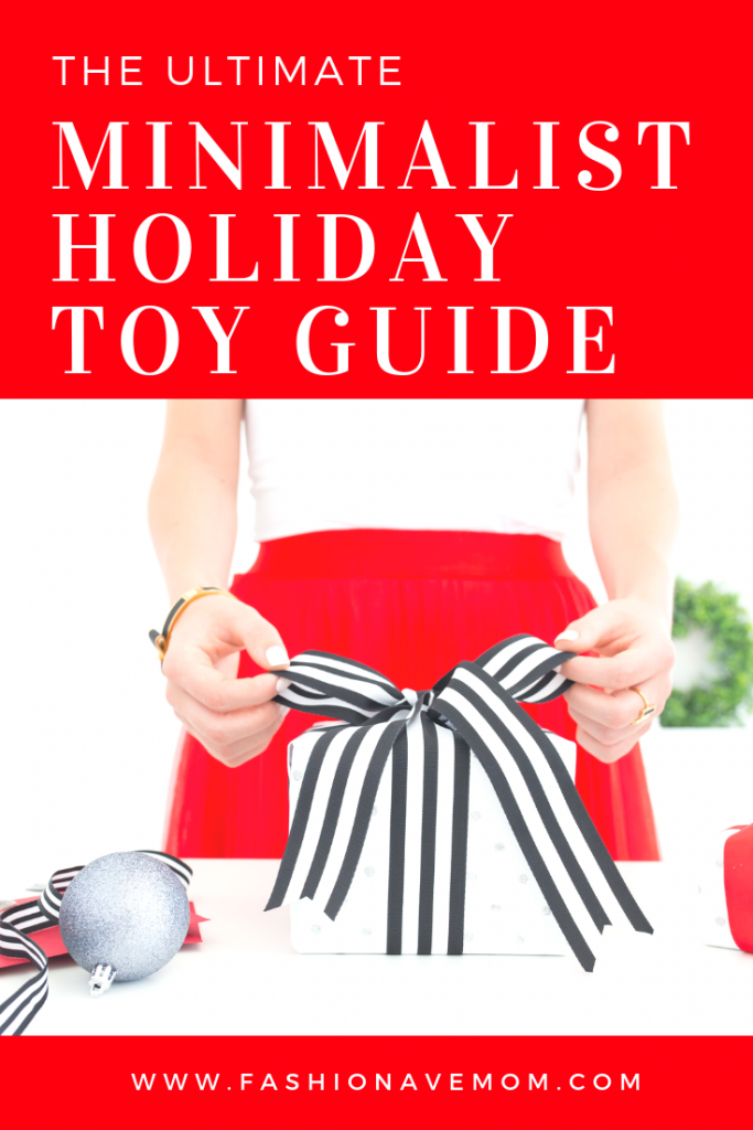 Minimalist holiday toy guide