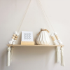 Nordic Beaded Wall Shelf White