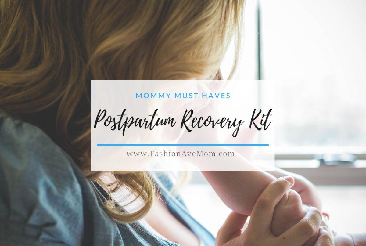 Mommy Must Have Postpartum Recovery Kit - FashionAveMom