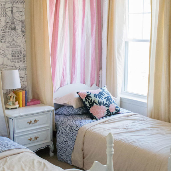 Soft & Classic City Inspired Shared Kid's Room
