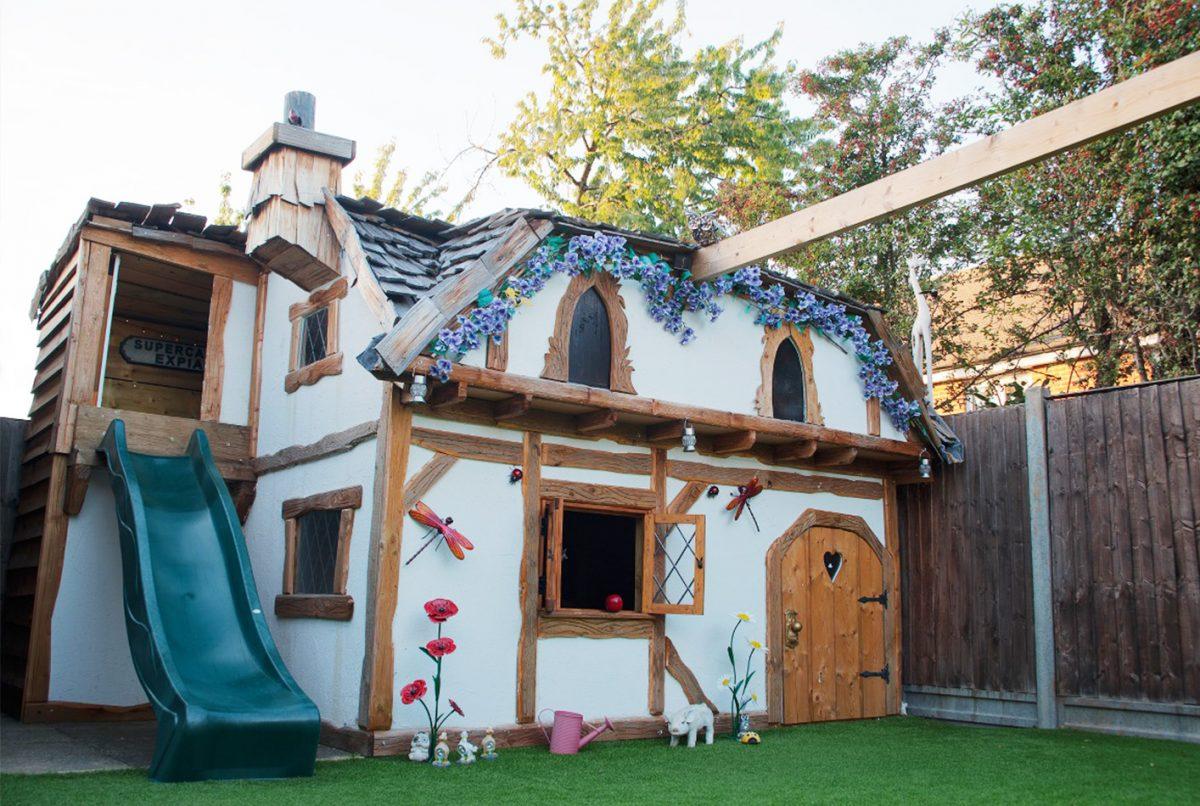 Fairy Tale Snow White Playhouse DIY - FashionAveMom on animation playhouse, zoom playhouse, girl playhouse, fairy playhouse plans, superhero playhouse, forest fairy playhouse, storybook playhouse, dog playhouse, pink playhouse, fairy tree, pee wee playhouse, fairy house playhouse, western playhouse, wooden fairy playhouse, snow white playhouse, gnome playhouse,