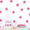 Star Wall Decals Pink Stars