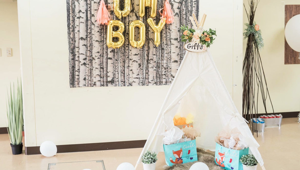Celebrate Woodland Themed Baby Shower