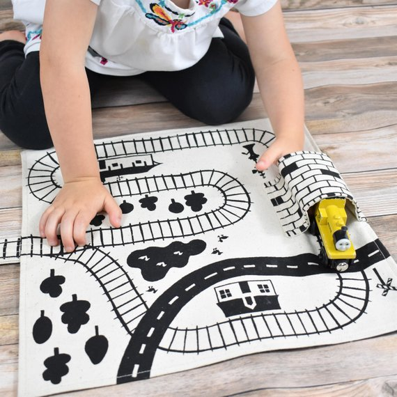 train play mat