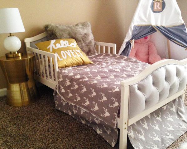 Gold Tribal Toddler Room