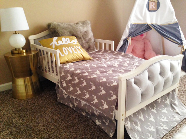 Gold Tribal Toddler Room