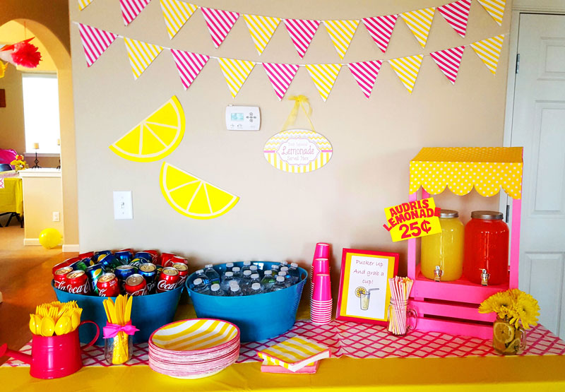 Party Planning A Pink Lemonade Birthday