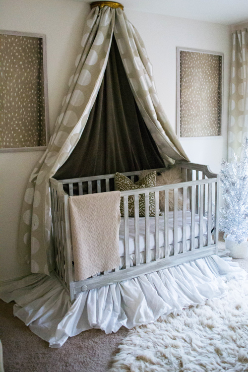 Neutral and Gold Nursery