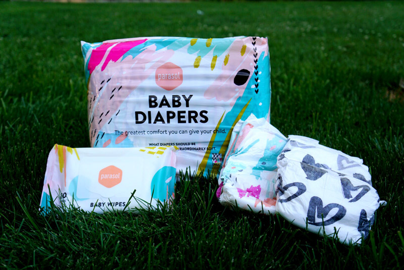Mommy Must Have Parasol Company Diapers and Wipes